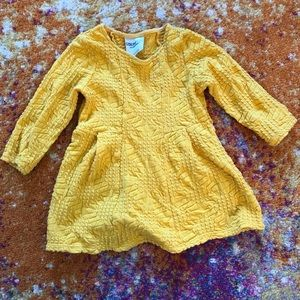 Genuine Kids yellow dress - size 12 months